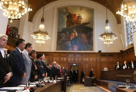 Parten alegatos orales en juicio marítimo de Bolivia a Chile en la CIJ