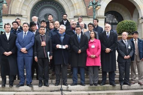 Bolivia tiene certeza de que Chile no ha modificado la postura y las pruebas bolivianas: Rodríguez Veltzé
