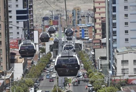 Teleférico La Paz – El Alto hasta la fecha transportó más de 120 millones de pasajeros