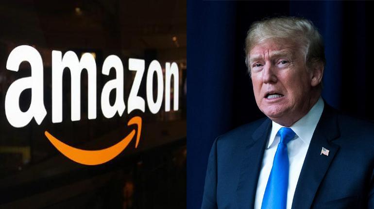 Trump preocupado porque Amazon paga pocos impuestos