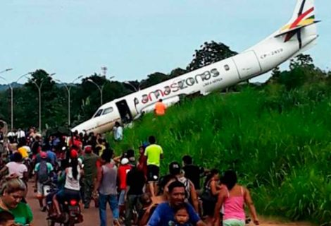 Suspenden a la tripulación Aves causan incidente aéreo en Riberalta