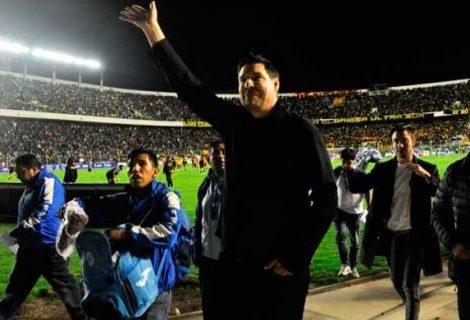 Claure se estrella contra dirigentes de Bolívar