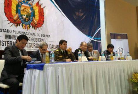 Inauguran en La Paz segunda precumbre de seguridad ciudadana