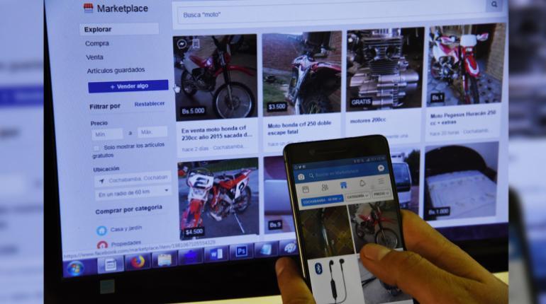 Marketplace de Facebook ya se usa en Bolivia; un espacio exclusivo para compra y venta