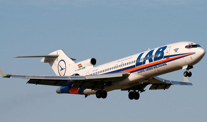 Autorizan crédito de $us 15 millones para aerolínea estatal BoA