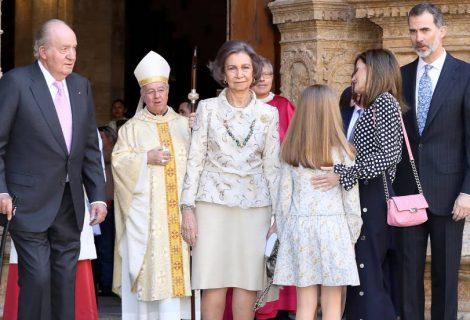 La Reina de España protagoniza tensa escena con su suegra