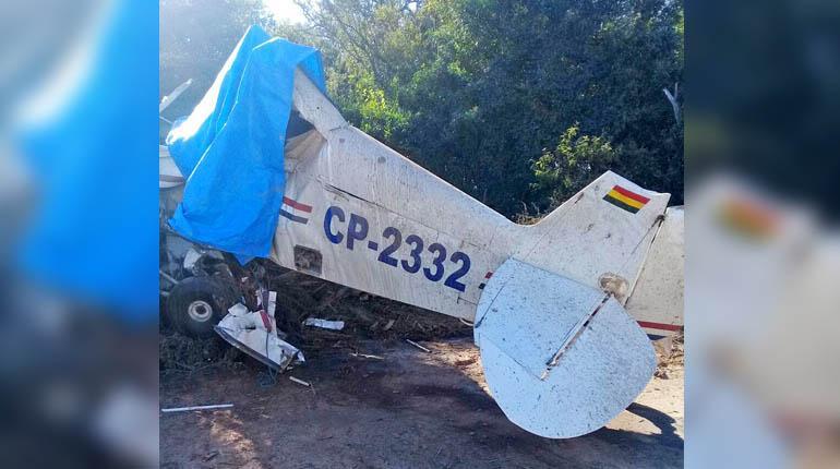 Fallo en aeronave causa la muerte de joven piloto en Pailón