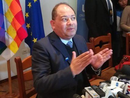 """Demanda de acusados por terrorismo ante la CIDH es un """"insulto"""" al Estado boliviano: Romero"""
