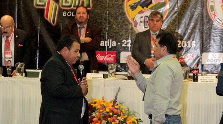FBF volverá a elegir a su presidente fuera de su sede en Cochabamba