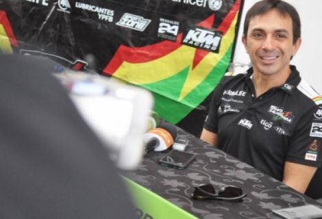 """""""Chavo"""" Salvatierra se suma al Dakar 2019 sobre cuatro ruedas"""