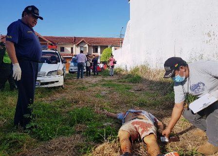 Asesinado de un disparo en la cabeza