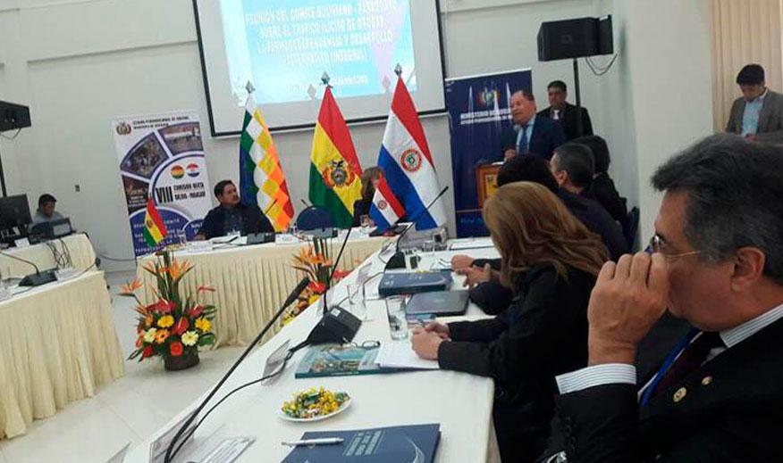 Bolivia y Paraguay fortalecerán lucha antidroga bilateral