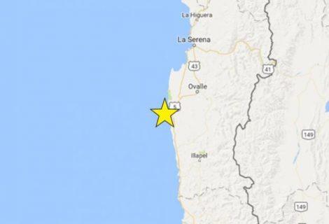 Sismo de 6,2 grados sacude siete regiones de Chile sin causar daños