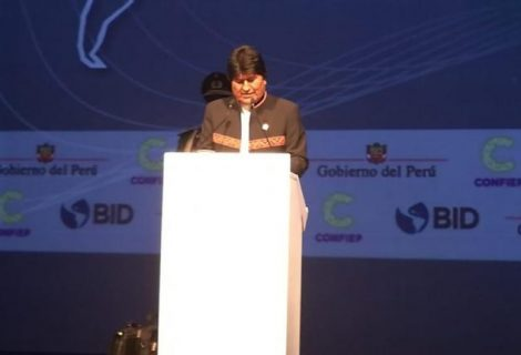 Morales pidió vivir sin depredar la naturaleza en la Cumbre de las Américas