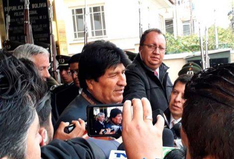Morales pedirá al Legislativo investigar denuncias vinculadas al caso Odebrecht en Bolivia