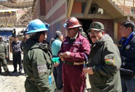 Explosión en Huanuni: fiscales y peritos entran a la mina para inspeccionar