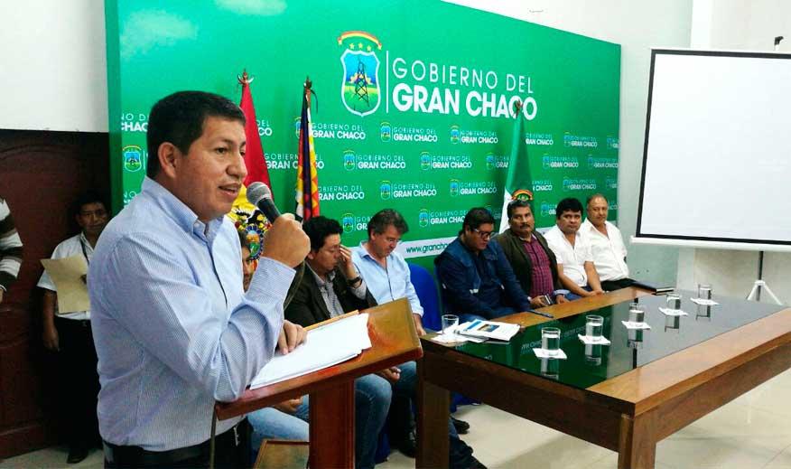 Ministro Sánchez asegura para Tarija más inversión y más gas en las próximas décadas
