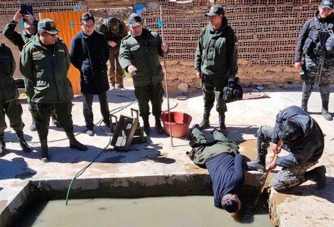 """Policía recupera 3,2 T de mineral de los """"jukus"""""""