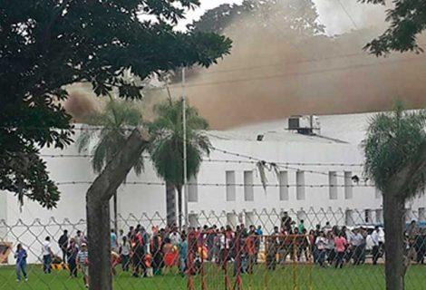 Reportan incendio en estudios de Unitel