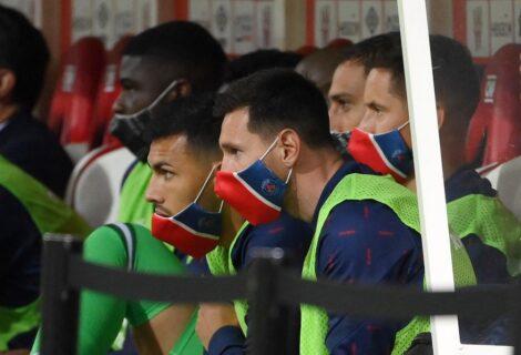 MESSI DEBUTA EN FRANCIA INGRESA EN EL 2º TIEMPO: El PSG vence al Reims con dos goles de Mbappé