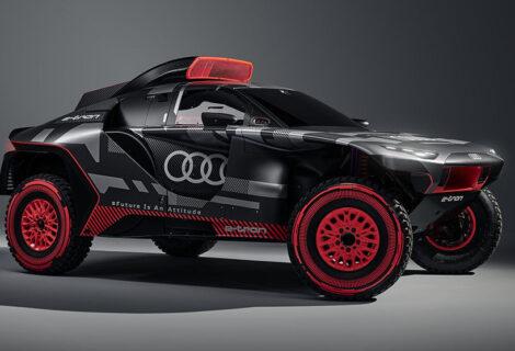 AUDI MARCA UN HITO HISTÓRICO EN EL RALLY DAKAR: Competirá con el primer automóvil eléctrico Audi RS Q e-tron