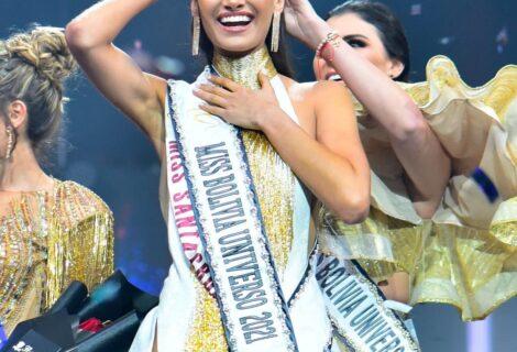DESLUMBRANTE ELECCIÓN DE MISS BOLIVIA 2021: La Miss Santa Cruz Nahemi Uequin fue la ganadora