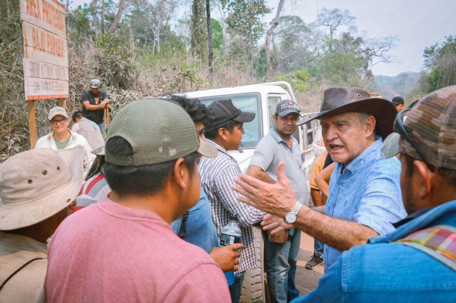 AVASALLADORES AGREDEN A COMITIVA EN SAN IGNACIO: Asentados arbitrariamente en el área protegida Bajo Paraguá