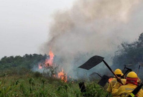 AUTORIDADES DE PUERTO SUÁREZ PIDEN AYUDA POR INCENDIOS: Preparan declaratoria de Desastre Natural y Ambiental