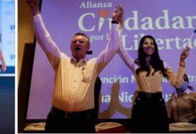 UN GUERRILLERO Y UNA MISS CANDIDATOS EN NICARAGUA: Oposición registra su primer frente a la presidencia