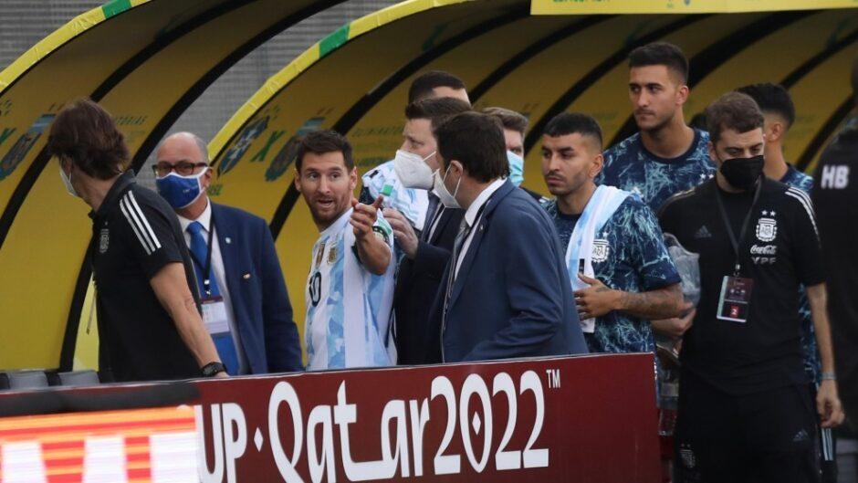 RIDÍCULO HISTÓRICO EN LAS ELIMINATORIAS QATAR 2022: Autoridades sanitarias impiden el partido Brasil-Argentina