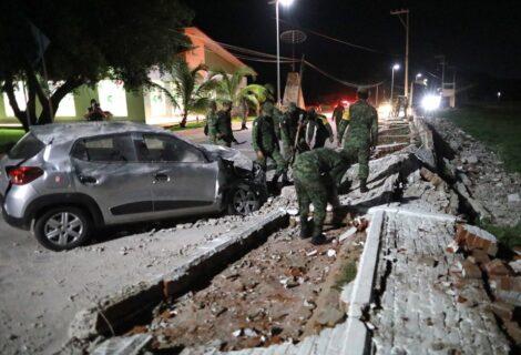 SISMO DE 7.1 SACUDE A MÉXICO A 14 KM DE ACAPULCO: Deja cortes de energía eléctrica, fugas de gas y varios daños