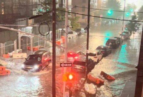 TORMENTA IDA CAUSA ESTRAGOS EN NORESTE DE EEUU: Inunda Nueva York, Nueva Jersey y Pennsylvania