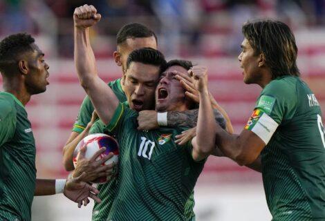 BOLIVIA NO PUEDE Y EMPATA APENAS A COLOMBIA 1-1: La verde compromete más sus chances de ir a Qatar 2022