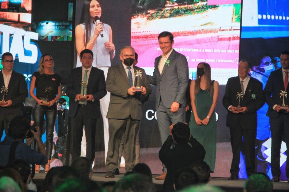 YPFB GANA LA PALMERA DORADA A LA INDUSTRIA: Logra el galardón por la novedosa presentación en Expocruz 2021