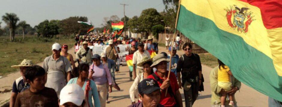 AVASALLADORES INTENTAN FRENAR XI MARCHA INDÍGENA: Temen confrontaciones en la comunidad Santa María