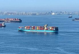 COLAPSA Y SE SATURA EL SISTEMA PORTUARIO DE CARGA: El puerto de Los Angeles enfrenta una acumulación récord