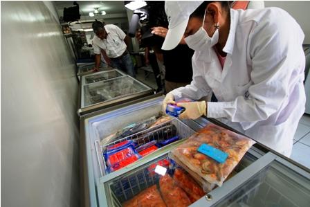 Por Semana Santa Intensifican control en productos de mar