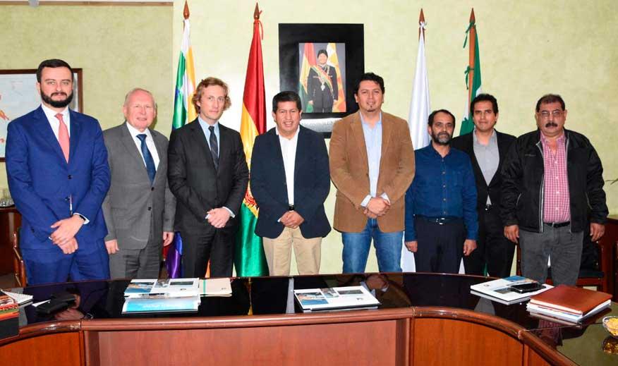 Empresa rusa Acron tiene interés de gas boliviano y plantea oportunidad conjunta de desarrollar proyectos derivados del amonio y la urea