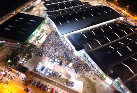 Inauguración del nuevo Mercado Los Pozos