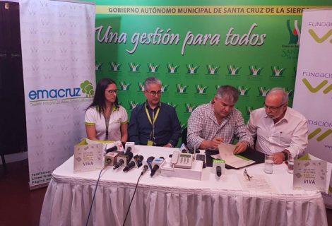 Fundación VIVA y EMACRUZ firman alianza estratégica para reciclar Basura Eléctrica y Electrónica de la ciudad