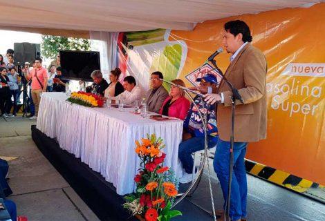 "YPFB comercializará hasta mil metros cúbicos de gasolina ""Súper 91"" al mes en Cochabamba"