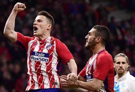 Atlético gana con apuros y consolida la segunda plaza