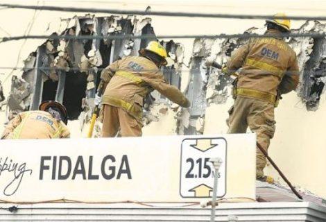 Informe: incendio en el Fidalga fue por mala manipulación de carbones en churrasquería