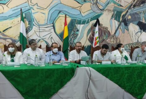 ASAMBLEA DE LA CRUCEÑIDAD REARTICULA EL CONADE: Anuncian marcha el 5 de agosto y vigilia en el INRA