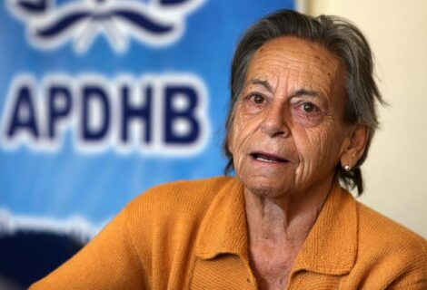 """AMPARO CARVAJAL ENVÍA LISTA DE 45 """"PRESOS POLÍTICOS"""": Pide al Fiscal General Juan Lanchipa su libertad"""