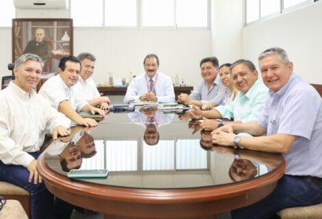LA UAGRM IMPULSARÁ EL MUSEO DE LA COMUNICACIÓN: El Rector Vicente Cuéllar acoge la iniciativa de la APSC